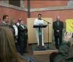 2008 - Inauguration de la dalle