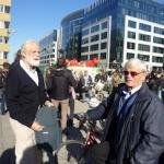 Jacques Vellut et Bruno Goffart, d'Ekta Europe, étaient là aussi!