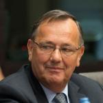 Théo Rombouts, président sortant du CFDD