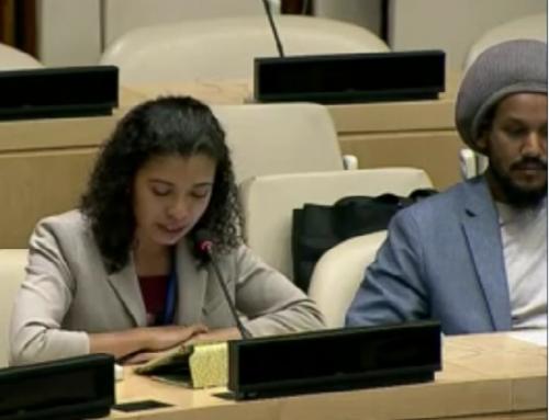 Interview de Rim Bakay, mandataire ONU développement durable du Conseil de la Jeunesse