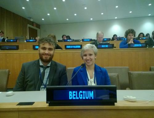 Interview de Joey Dellatte, mandataire du Conseil de la Jeunesse à l'Assemblée Générale de l'ONU