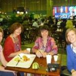 Sabien Leemans, Brigitte Gloire, Antoinette Brouyaux et Véronique Rigot à Rio+20 en 2012