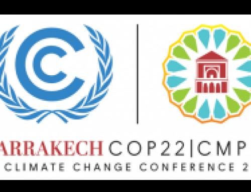 Recommandations pour la conférence Climat de Marrakech (COP 22)
