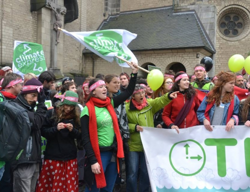 A Bonn avec le Climate Express