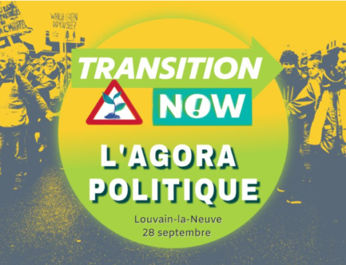 Transition Now: échos de l'agora politique