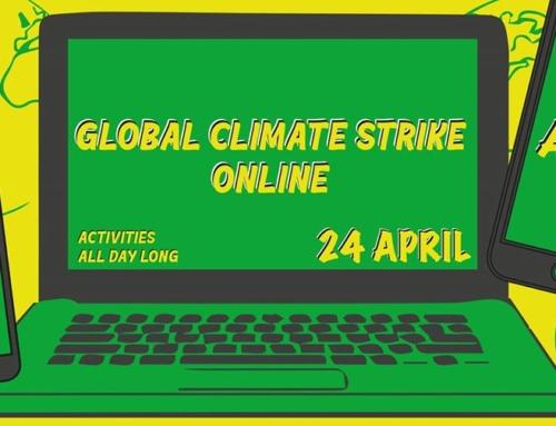 Grève climatique en ligne ce vendredi 24 avril 2020