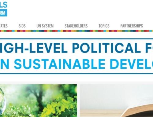 La société civile à l'ONU pour la revue des ODD